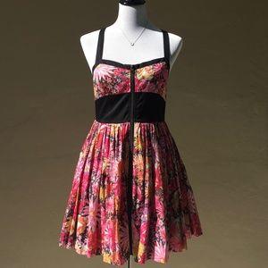 JACK by BB Dakota Pink Floral Dress M